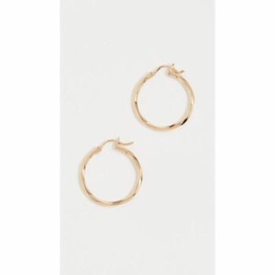 マリア ブラック Maria Black レディース イヤリング・ピアス ジュエリー・アクセサリー Francisca 22 Hoop Earrings Gold