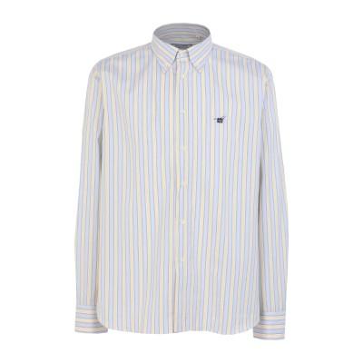 ヘンリー コットンズ HENRY COTTON'S シャツ ライトグレー XL コットン 100% シャツ