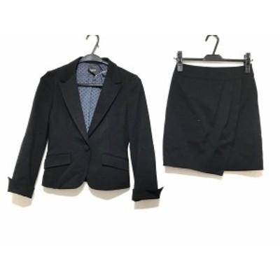 インディビ INDIVI スカートスーツ サイズ36 S レディース - 黒【中古】20200711
