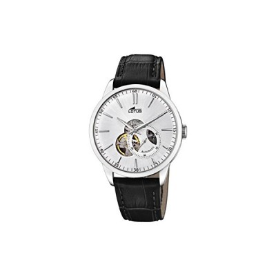 Lotus Watches Mens Analogue Classic Automatic Watch with Leather Strap 18536/1 並行輸入品