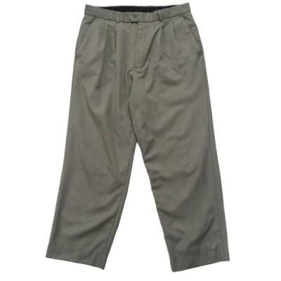 LEONARDI スラックス パンツ ツータック サイズ表記:--