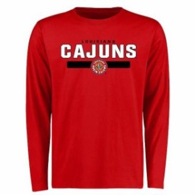 Fanatics Branded ファナティクス ブランド スポーツ用品  Louisiana-Lafayette Ragin Cajuns Red Team Strong Long Sl