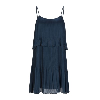 EMMA & GAIA ミニワンピース&ドレス ダークブルー 40 ポリエステル 100% ミニワンピース&ドレス