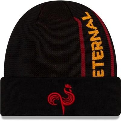 ユニセックス スポーツリーグ Eスポーツ Paris Eternal New Era Cuffed Knit Hat - Black - OSFA