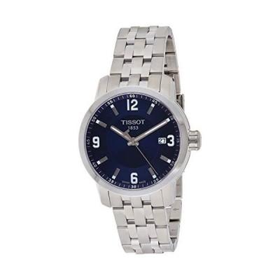 Tissot PRC 200 Blue Dial Stainless Steel Quartz Ladies Watch T0554101104700並行輸入品