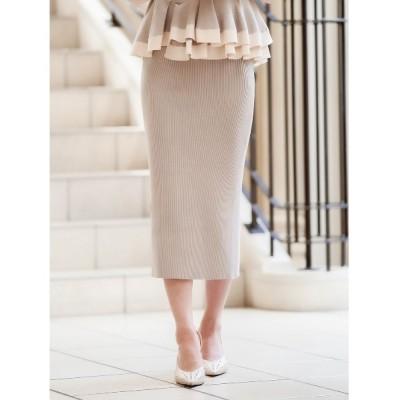 Darich / スリットミディニットスカート WOMEN スカート > スカート