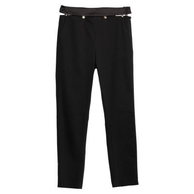 LES BOURDELLES DES GARÇONS パンツ ブラック 44 コットン 50% / ナイロン 46% / ポリウレタン 4% パンツ