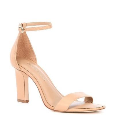 アントニオ メラーニ レディース サンダル シューズ Stacen Leather Block Heel Dress Sandals
