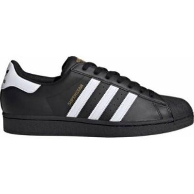 アディダス メンズ スニーカー シューズ adidas Originals Men's Superstar Shoes Black/White