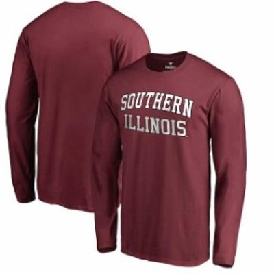 Fanatics Branded ファナティクス ブランド スポーツ用品  Southern Illinois Salukis Maroon Everyday Long Sleeve T-
