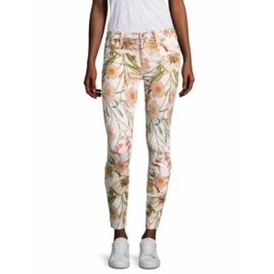 7 フォー オールマンカインド レディース パンツ デニム Tropical Printed Skinny Ankle Jeans