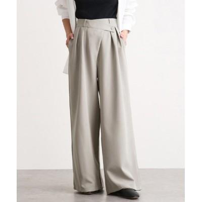 aimoha / ゆったり ハイウェストデザインパンツ WOMEN パンツ > スラックス