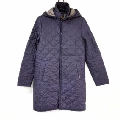 ラベンハム LAVENHAM サイズ36 S レディース 美品 パープル キルティング/冬物【中古】20210415