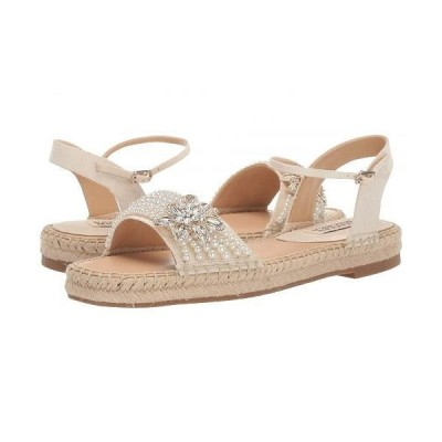 Badgley Mischka バッジリーミシュカ レディース 女性用 シューズ 靴 サンダル Leandra - Ivory Indian Silk
