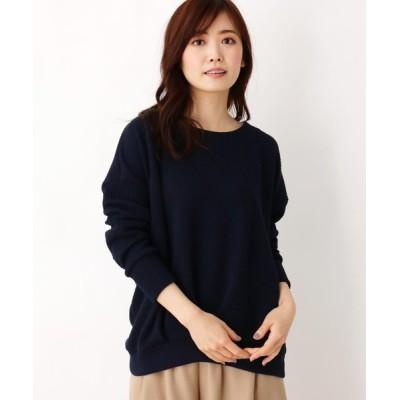 SHOO・LA・RUE / ワイドリブ前タックテレコプルオーバー WOMEN トップス > Tシャツ/カットソー