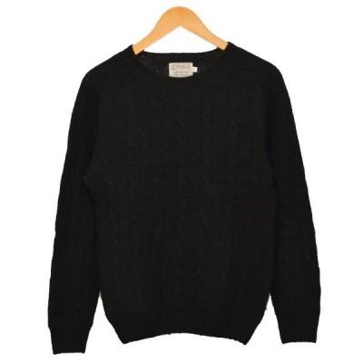 Inverallan ケーブルニット セーター ブラック サイズ:34 (二子玉川店) 200824