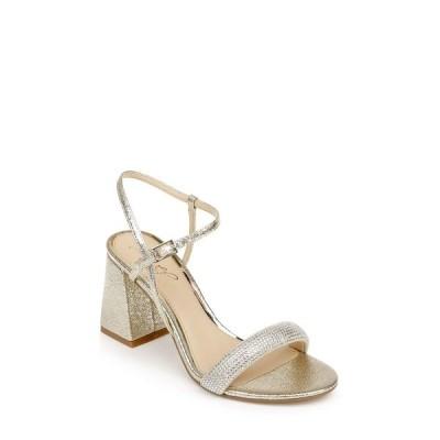 ジュウェルダグレイミシュカ サンダル シューズ レディース Women's Earlene Block Heel Evening Sandal Gold