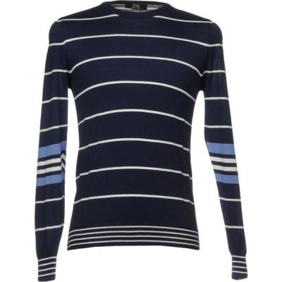 マスク +39 MASQ メンズ ニット・セーター トップス sweater Dark blue