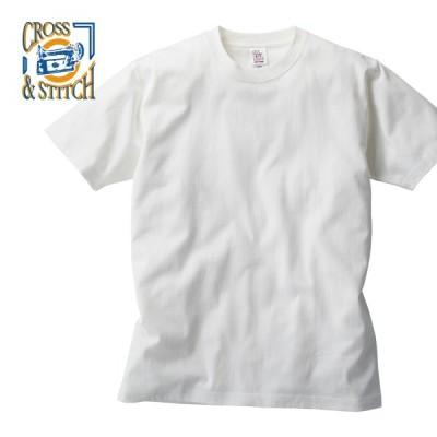 Tシャツ 半袖 CROSS STITCH クロススティッチ 6.2オンス オープンエンド マックスウェイト PFD Tシャツ OE1115 大きいサイズ 後染め専用 イベント XXL XXXL