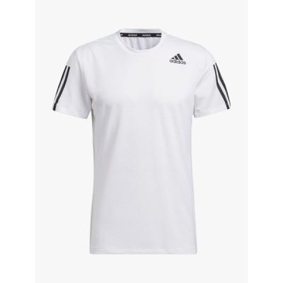 アディダス Tシャツ メンズ トップス adidas Primeblue AEROREADY 3-Stripes Slim Gym Top
