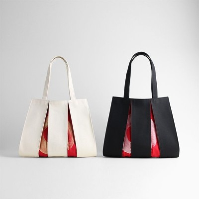KOSHO ougi 帆布 トートバッグ madoka M レディース メンズ おしゃれ キャンバス 布バッグ オリジナル 日本製 京都 肩掛け 軽量 裏地付き A4サイズ対応