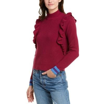 スプレンディット ニット&セーター アウター レディース Splendid Mock Sweater fuchsia