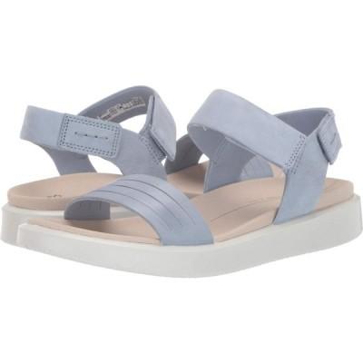 エコー ECCO レディース サンダル・ミュール シューズ・靴 Flowt Strap Sandal Dusty Blue/Dusty Blue Cow Leather/Cow Nubuck