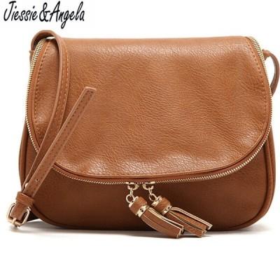 タッセル女性のバッグ 革ハンドバッグ クロスボディショルダーバッグ ファッションメッセンジャーバッグ 女性のハンドバッグ
