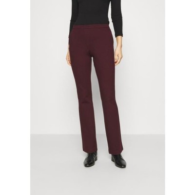 レディース ファッション TANNY FLARE PANTS - Trousers - pansy
