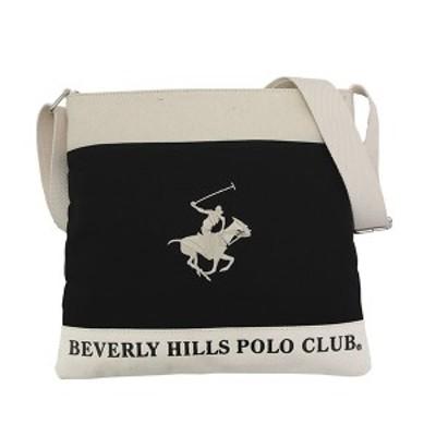 ビバリーヒルズポロクラブ BEVERLY HILLS POLO CLUB バッグ ショルダーバッグ  メンズ ギフト レディース ブラック アイボリー ホワイト