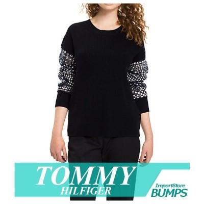トミーヒルフィガー セーター ニット レディース ウィメンズ エッセンシャル ディープ Vネック XS〜XL トップス 新作 TOMMY
