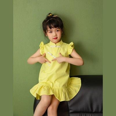 子供ドレス ガールズ ジュニア ピアノ発表会 七五三 結婚式 子供服装 フォーマル キッズ 子どもドレス 女の子ワンピース 90cm-140cm