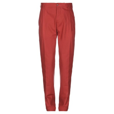 DOPPIAA パンツ 赤茶色 46 コットン 100% パンツ