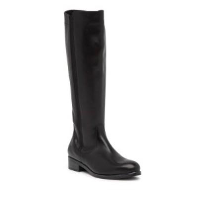 イタリアンシューメーカー レディース ブーツ&レインブーツ シューズ Asia Leather Knee-High Boot BLACK