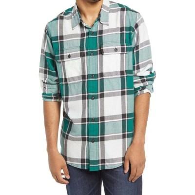フィルソン FILSON メンズ シャツ トップス Scout Plaid Sport Shirt White/Green/Black