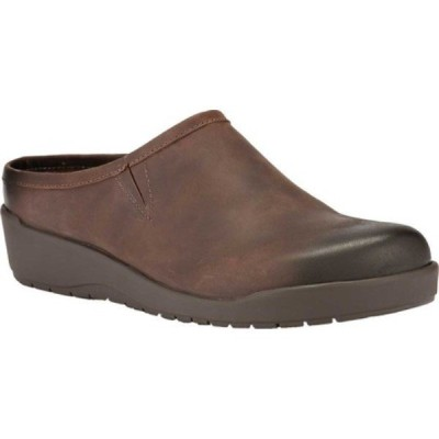 ウォーキング クレードル Walking Cradles レディース クロッグ シューズ・靴 Abbott Clog Brown Distressed