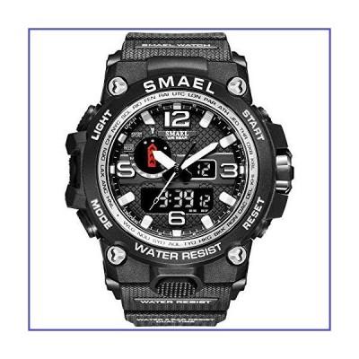 KXAITO メンズウォッチ スポーツ アウトドア 防水 ミリタリー 腕時計 日付 多機能 タクティカル LED アラー