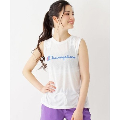 grove / グローブ 【WEB限定】Champion ノースリーブTシャツ