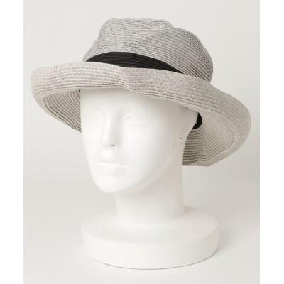 Abahouse Devinette / 【追加】ecru ワイヤー入り折りたたみハット WOMEN 帽子 > ハット