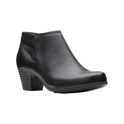 レディース 靴 コンフォートシューズ Clarks Womens Valarie2Ashly Ankle Boots