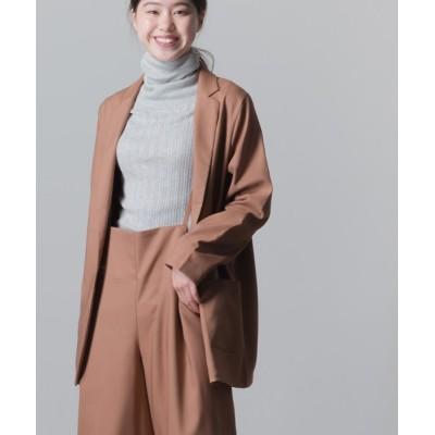 OMNES / ストレッチカチオン テーラードジャケット WOMEN ジャケット/アウター > テーラードジャケット