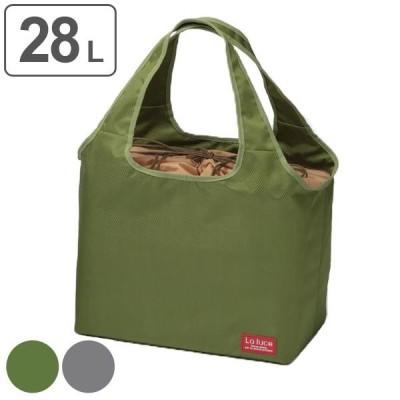 エコバッグ 保冷機能付き 28L トート 巾着 2wayタイプ クールバッグ ( 保冷バッグ クーラーバッグ ショッピングバッグ )