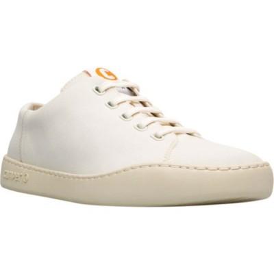 カンペール メンズ ドレスシューズ シューズ Peu Touring Court Shoe Light Beige Nylon