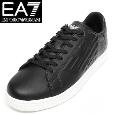 エンポリオ アルマーニ EA7 スニーカー メンズ レザー 靴 EMPORIO ARMANI X8X001 XCC51 00002
