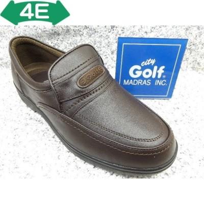City Golf シティゴルフ GF8502 ダークブラウン│ メンズ 革靴 ビジネスシューズ 23.5cm-27.0cm