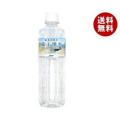 送料無料 荒井商事 蔵王湧水 500mlペットボトル×24本入
