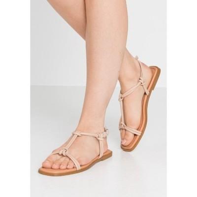 ジン サンダル レディース シューズ Sandals - nude