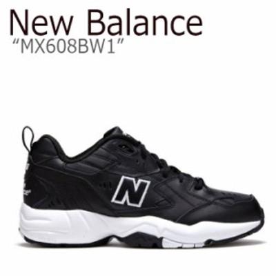 ニューバランス 608 スニーカー New Balance メンズ レディース MX608BW1 New Balance608 BLACK ブラック NBPT9S101K シューズ