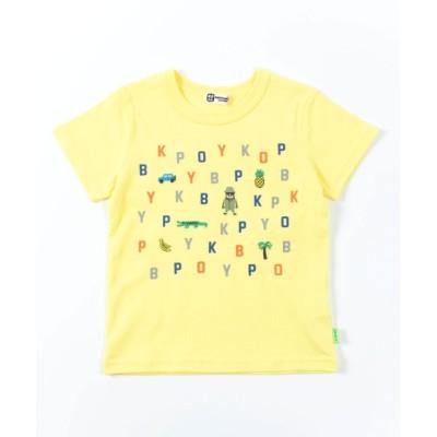 【ケーピー】 KPBOY(ケーピーボーイ)アルファベット半袖Tシャツ(100-130cm) キッズ その他 100 KP