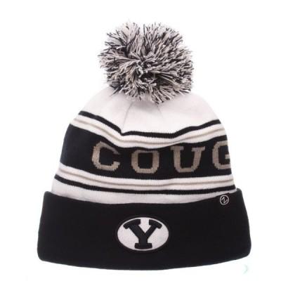 ユニセックス スポーツリーグ アメリカ大学スポーツ Byu Cougars Official NCAA Finish Line Arctic Adjustable Beanie Knit Sock Hat